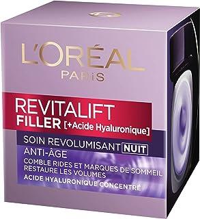 LOréal Paris Soin anti-âge Revitalift Filler revolumisant nuit - le pot de 50ml
