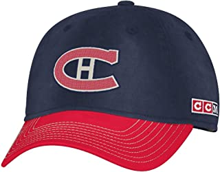 Montreal Canadiens CCM NHL Classic Sun Bleached Slouch Adjustable Hat