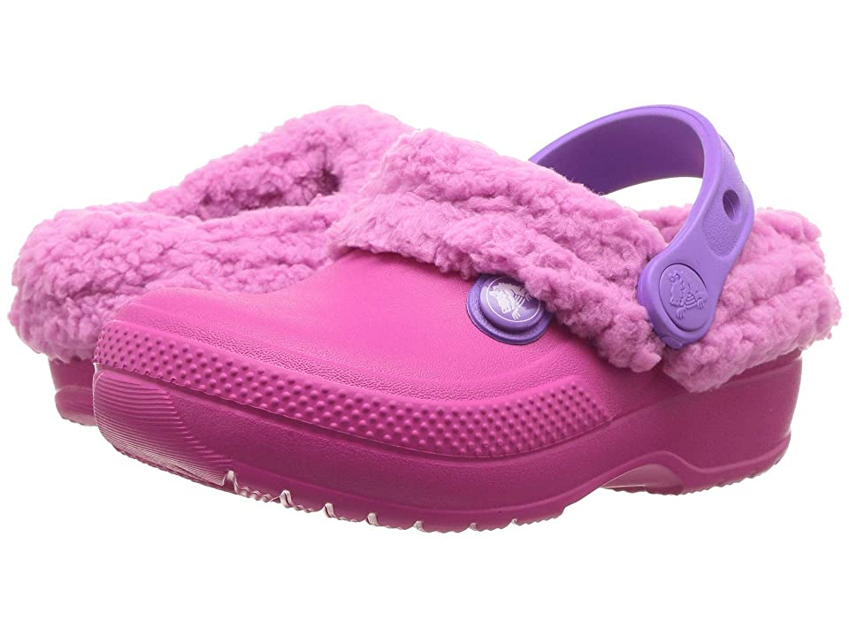 Crocs Kids Classic Blitzen III Clog (Toddler/Little Kid) (Candy Pink/Party Pink) Kids Shoes