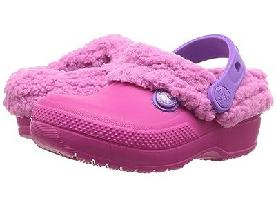 Crocs Kids Classic Blitzen III Clog (Toddler/Little Kid) (Candy Pink/Party Pink) Kids Shoes