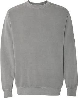 Womens 9.5 oz. Garment-Dyed Fleece Crew (1566)