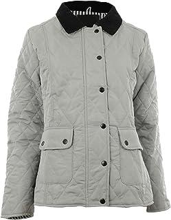 9df01c5e0c Gracious Girl Abbi New Womens Quilted Zip Nautical Lining Ladies Jacket Coat