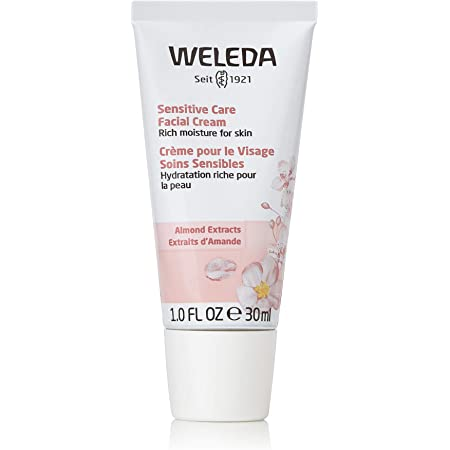 Weleda Soothing Facial Cream Fluid Ounce, Almond, 1 Fl Oz