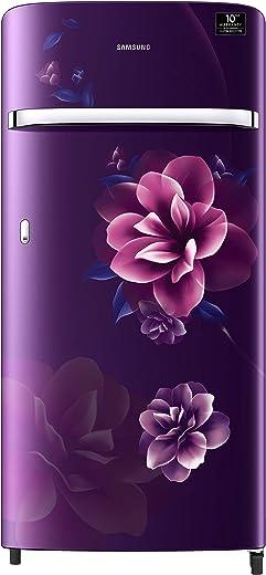 Samsung 198 L 5 Star Inverter Direct-Cool Single Door Refrigerator (RR21T2G2WCR/HL, Camellia Purple) 1