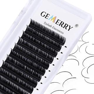 12mm Individuele Wimpers Wimperextensions Dikte 0.07mm D curl Russische Wimpers Professioneel Eyelash Extensions door GEME...