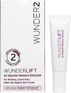 WUNDER2 WUNDERLIFT 60 Seconds Wrinkle Reducer - Eye Serum to Reduce Lines and Dark Circles, 0.40 Fl Oz