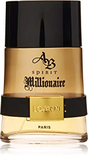LOMANI AB Spirit Millionaire Eau de Toilette Spray for Men, 6.6 Ounce