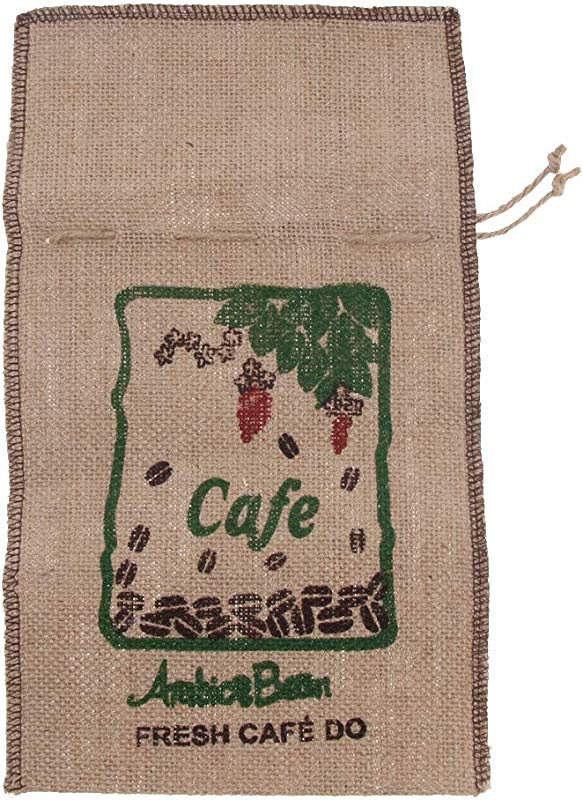 Flameer Jute Drawstring Burlap Gift Bags Pouches For Soap Coffee Wedding Party Favor