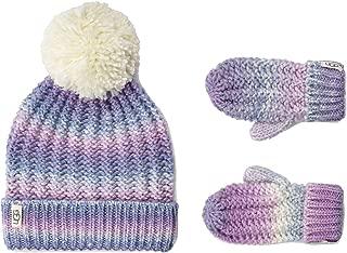 UGG Kids Spacedye Knit Hat Mitten Set