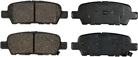 KFE Ultra Quiet Advanced KFE905-104 Premium Ceramic REAR Brake Pad Set