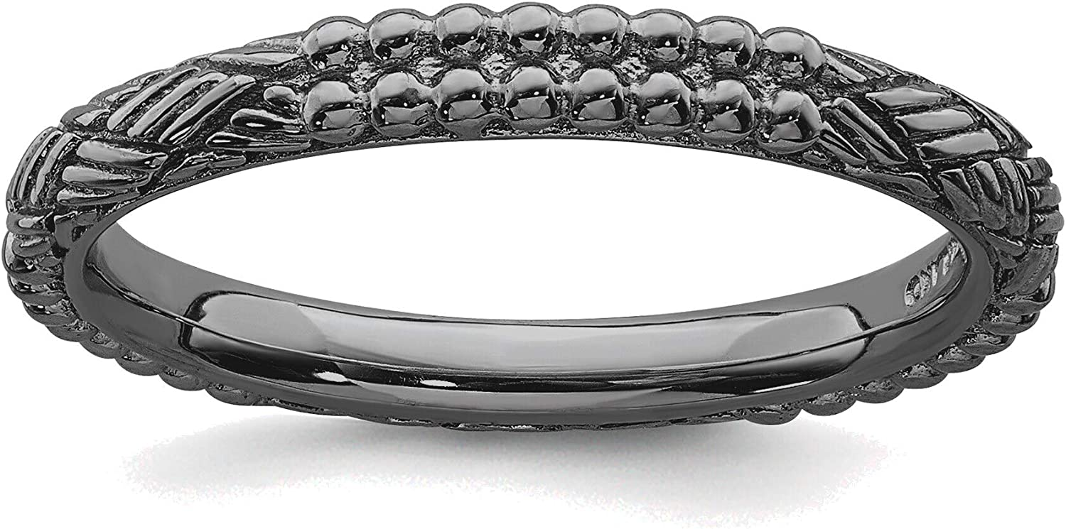 Bonyak Milwaukee Mall Jewelry Solid Sterling Expressions Ruthe Silver Free shipping on posting reviews Stackable