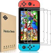 【3枚入り】Nintendo Switch 保護フィルム Switchガラスフィルム ニンテンドー スイッチフィルム【 日本硝子素材 】硬度9H 高透過率 指紋防止 ガラス飛散防止 気泡ゼロ 貼りやすい