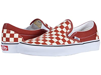 Vans Classic Slip-Ontm (Picante/True White) Skate Shoes