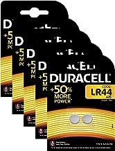 Duracell  PX76A piles bouton alcalines LR44 A76 - 1.5v - Lot de 5x2 (10 piles)