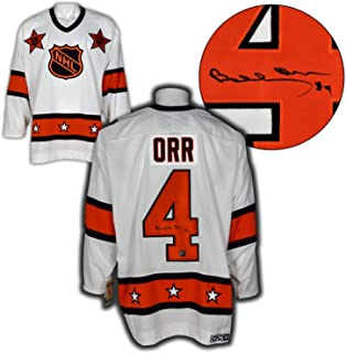 Autographed Bobby Orr Jersey - NHL All Star Game CCM Vintage : GNR COA - Autographed NHL Jerseys
