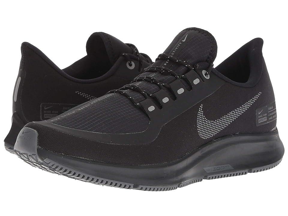Nike Air Zoom Pegasus 35 Shield (Black/Anthracite/Anthracite/Dark Grey) Women