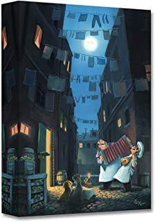 Disney Fine Art Serenade of The Heart - Treasures on Canvas Lady and The Tramp Gallery Wrapped Canvas Wall Art by Rob Kaz