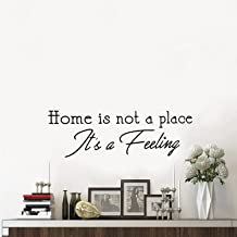 Vinyl Wall Art Decal - Home is Not A Place It's A Feeling - 10