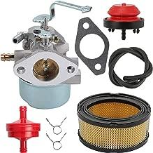 Mannial Carburetor Carb fit Tecumseh 640260 640260A 640260B 632689 HM80 HM85 HM90 HM100 LH318XA LH358XA LH358EA 8hp to 10hp Engines Lawn Mower Tiller Chipper Shredder Vac Engines