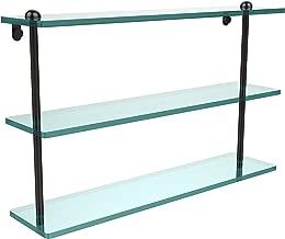 Allied Brass 22 Inch Triple Tiered Glass Shelf, RC-5/22-ORB