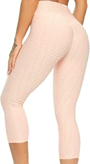 FITTOO Pantalon de Fitness Femme Yoga Pants Legging de Sport Collant Fait de Tissu Spécial