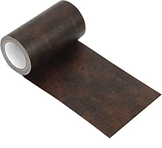 Onine Leather Repair Tape Patch Leather Adhesive for Sofas, Car Seats, Handbags, Jackets,First Aid Patch (Coffee)