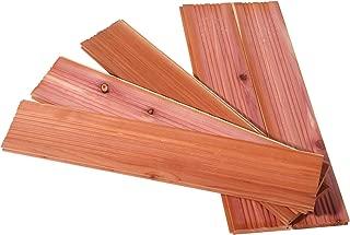 CedarFresh 25003-1 Interlocking Cedar Wood Plank Drawer Liners | Set of 5