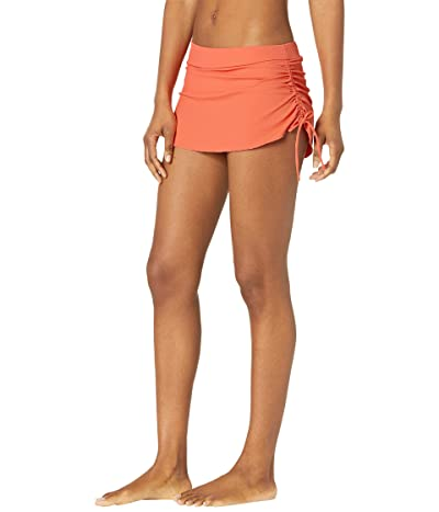 Carve Designs Hoku Swim Skirt (Coral) Women