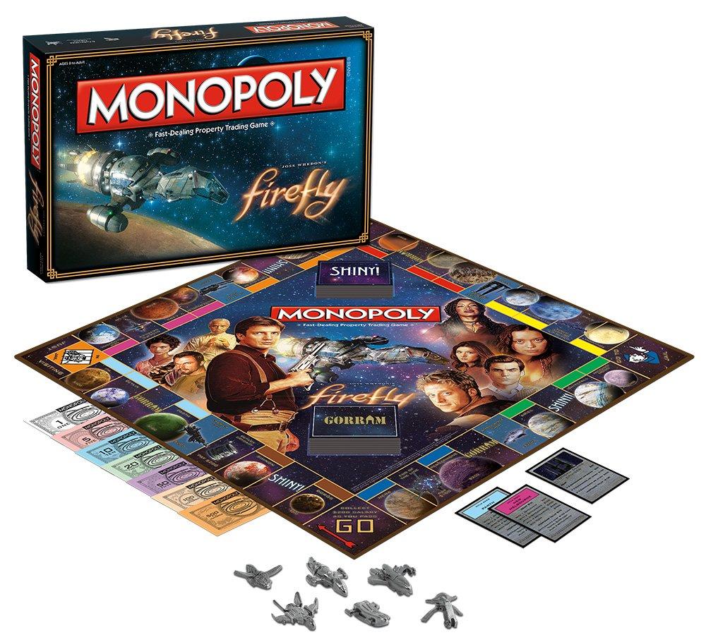 Monopoly: Firefly Edition: USAopoly: Amazon.es: Juguetes y juegos