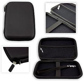 caseroxx GPS Tasche für Kainuoa 7 Zoll Europe Traffic GPS Navi, (GPS Tasche mit Reissverschluss und Gummizug in schwarz)