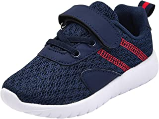 DADAWEN Toddler/Little Kid Boys Girls Casual Lightweight Breathable Strap Sneakers Athletic Running Shoes