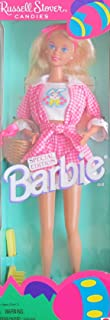 Barbie Russell Stover Candies Doll Special Edition w Pink-White Outfit (1995)