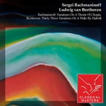 Rachmaninoff: Variations On A Theme Of Chopin, Beethoven: Thirty Three Variations On A Waltz By Diabelli