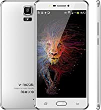 Điện thoại di động Android – V Mobile A9+ Dual SIM Unlocked Cell Phones, 6.0 inch HD, Quad Core 16GB ROM, Android 8.0, 13MP, 3000mAh Battery Smartphone, Compatible with ATT, T-Mobile, Cricket, Metro PCS Other GSM Carrier (White)