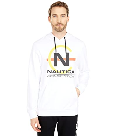 Nautica Competition Pullover Fleece (Bright White) Men