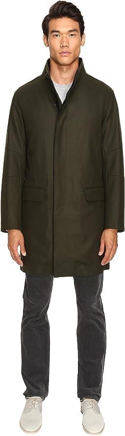 Raw Edge Military Coat