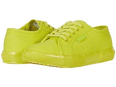 Superga Kids 2750 Popcotj (Toddler/Little Kid) (Yellow Neon) Kid