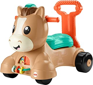 Fisher Price Pony Camina Conmigo Juguete para Bebés de 9 Meses en adelante
