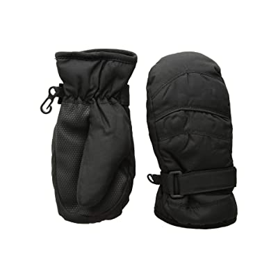 Tundra Boots Kids Nylon Mittens (Black) Extreme Cold Weather Gloves