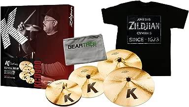 Zildjian KCD900 K Custom Dark Cymbal Box Set w/Zildjian T4674 QUINCY VINTAGE SI