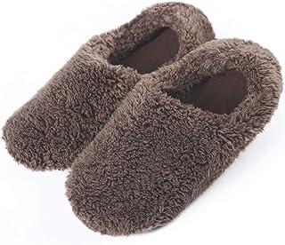 [KAISEI] ルームシューズ スリッパ メンズ レディース 室内履き 暖かい 滑らない 歩きやすい もこもこ 防寒 冷え対策 静音 軽量 滑り止め 来客用 自宅用 男女兼用