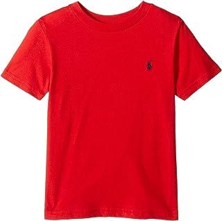 Polo Ralph Lauren Kids Boy's Cotton Jersey Crew Neck T-Shirt (Little Kids/Big Kids) Rl 2000 Red 5 Little Kids