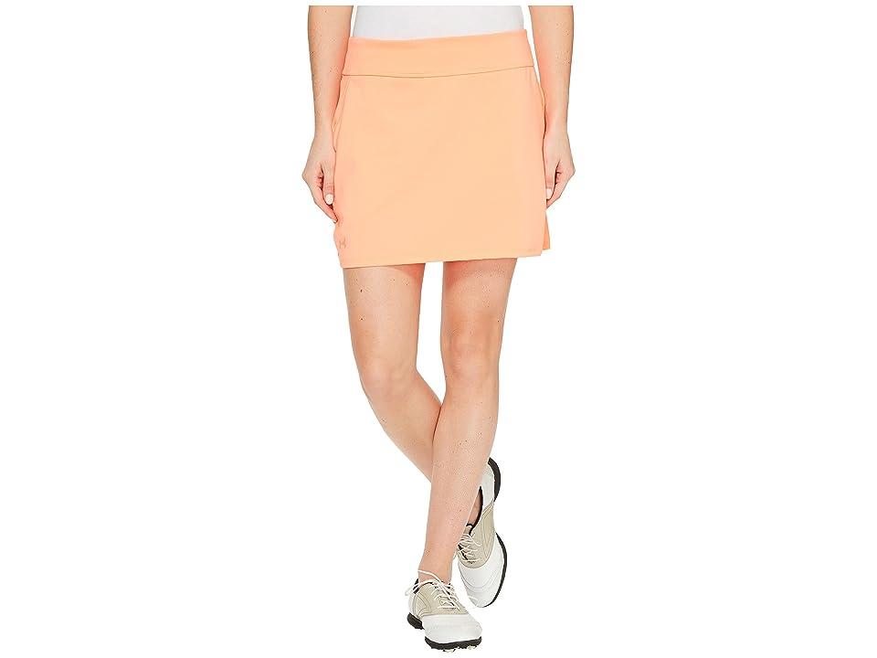 Under Armour Golf Links Knit Skort (London Orange/London Orange/London Orange) Women