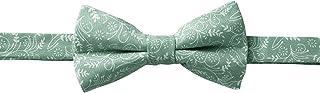 Jacob Alexander Men`s Pre-tied Banded Adjustable Floral Bow Tie - Dusty Sage