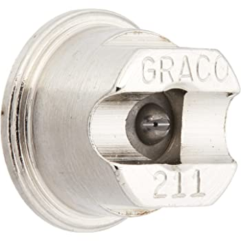 Graco 269413 Contractor Flat Tip for Airless Paint Spray Guns with 0.013-Inch Diameter and 8-Inch Fan