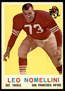 1959 Topps #19 Leo Nomellini Excellent+ 49ers