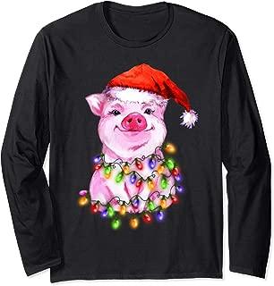 Best christmas pig shirt Reviews
