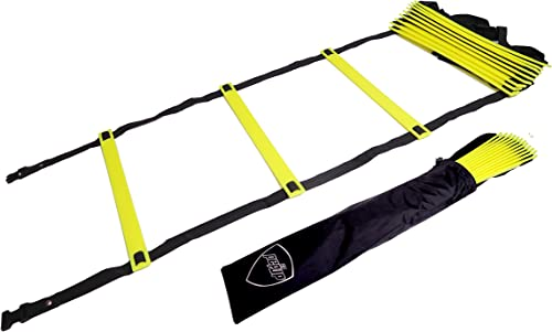 Pepup Sports Super Flat Adjustable Speed Agility Ladder (6M With 12 Rungs)