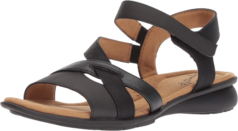 Natural Soul Womens Jordana Flat Sandal