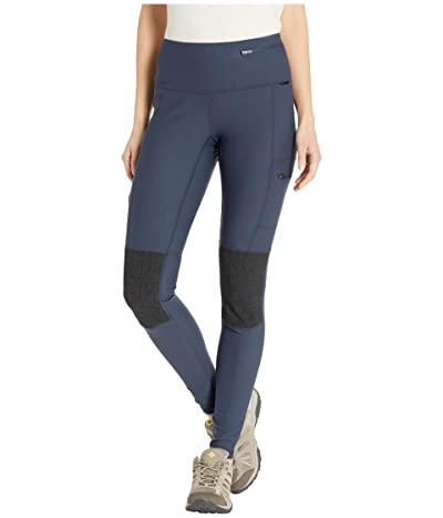 Fjallraven Abisko Trek Tights (Navy) Women